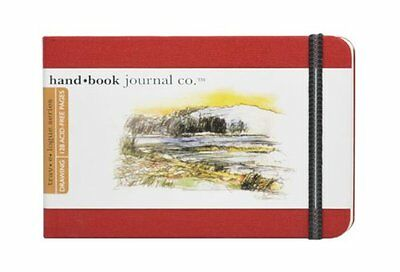 Global Art Materials 3-1/2-Inch by 5-1/2-Inch Drawing Book,
