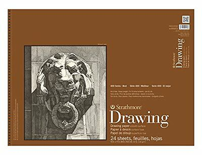 Strathmore 400 Drawing Pad Smooth 14X17