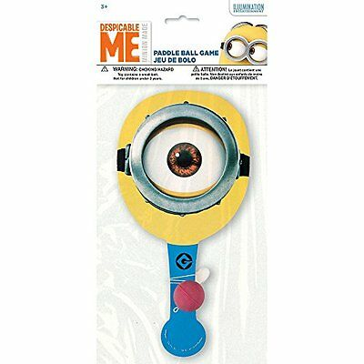 Despicable Me Minions Paddle Ball Game