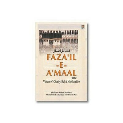 Fazail E-Amaal Vol-2 Sadakat English Tablig Muslim Islamic Hadith Books