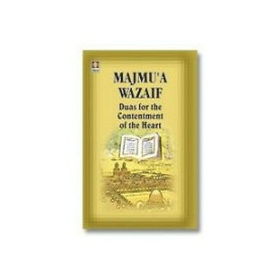 Duas for Contentment of the Heart - Majmua Wazaif - Arabic Islamic Book English