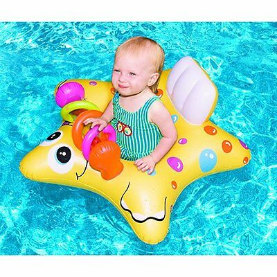 "Swimline 90253SL 33"" Starfish Baby Seat with Onboard Toys"
