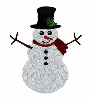 Application Holiday Snowman Patch