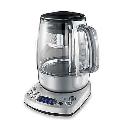 Breville One-Touch 1.6 Quart Electric Tea Kettle Hot Water Maker with Glass jug