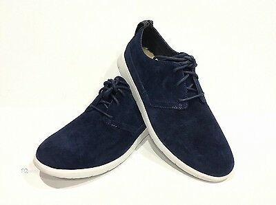 46bd2b424ac UGG BOWMORE MENS Suede Shoes Lace Up Beige Size 7 New in Box 1006692 ...