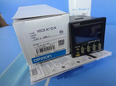 Omron Timer H5CX-A11D-N 12-24VDC New In Box