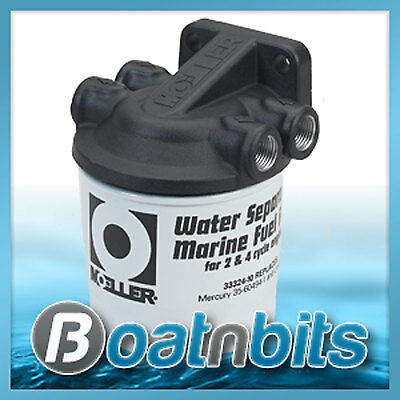 Boat Marine Fuel Filter Water Seperating Outboard 33320