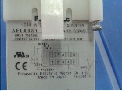 USED PANASONIC Counter LC4H-W tested