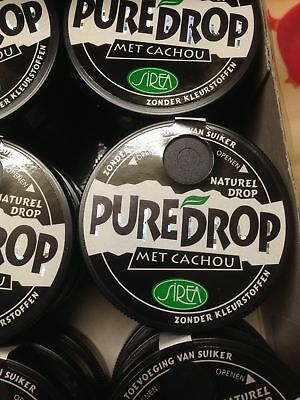Pure licorice Cachous - Natural - Pure Drop