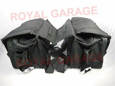Customized Side Hanging Saddle Bag For Touring Royal Enfield Harley Bsa Norton