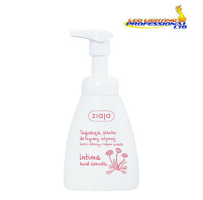 ZIAJA INTIMATE HYGIENE FOAM DAISY FLOWER SOOTHING 250ml 00250