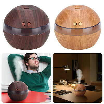 Air Humidifier LED Ultrasonic Aroma Essential Diffuser Purifier Oil Aromatherapy