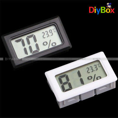 LCD Thermometer Hygrometer Humidity Temperature Meter Indoor +K Type Probe