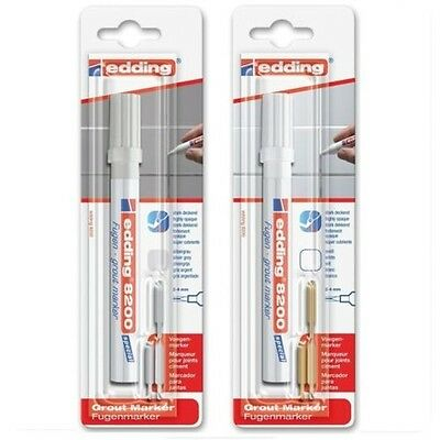Add marker edding 8200. Joint pen for tiles. Grout marker Selectable colors