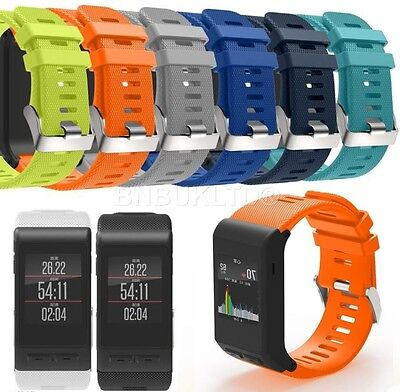 Silicone Strong Fitness Replacement Band Wrist Strap For Garmin Vivoactive HR