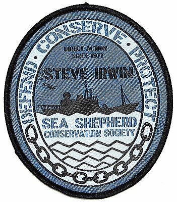 Official Sea Shepherd Steve Irwin Ship's Patch