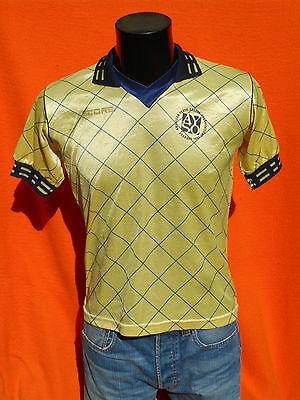 SCORE Jersey Maillot Camiseta Trikot Made in USA True Vintage Porté Worn Soccer