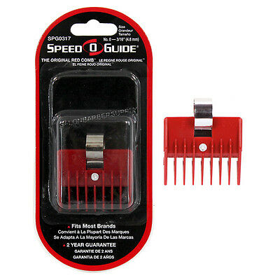 """SPEED-O-GUIDE Clipper Attachment Comb 0 3/16"""" #SPG0317 Fits ANDIS, OSTER, WAHL"""