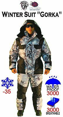 """Winter  ice fishing  hunting Suit """"Gorka""""/ use temperature up to – 35 degrees"""