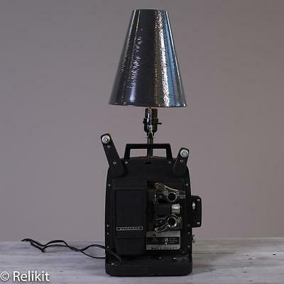 Upcycled 8MM Projector Table Lamp