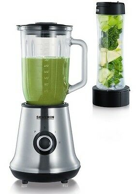 SEVERIN Smoothie Protein Bar Blender Shaker Maker Smoothiemaker
