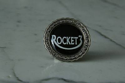 Rocket 3 Metal Pin with 3D - sticker Badge Abzeichen British Rockers III Rocker