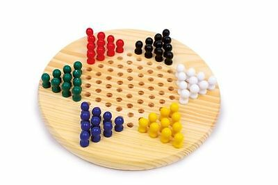 Lady chinese wood with checkers coloured