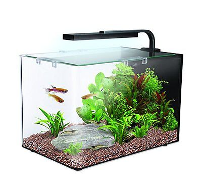 Interpet AMA51506 Nano LED Complete Aquarium Fish Tank Kit - 19 L