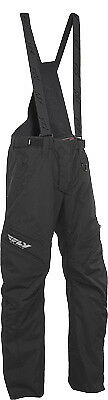 Fly Racing Men's SNX Pro Lite Black Waterproof Snowmobile Snocross Riding Pant