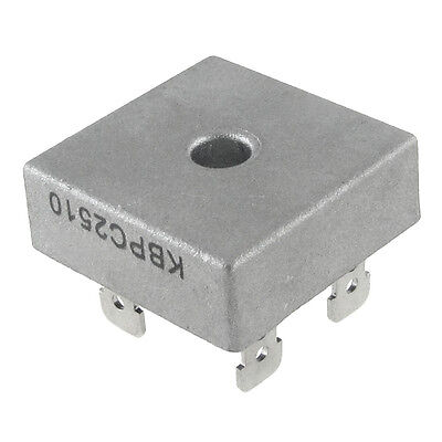 Single Phase Diode Bridge Rectifier 25A 1000V KBPC2510 New AD