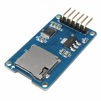 SPI Reader Micro SD Memory Card TF Memory Card Shield Module for Arduino AD