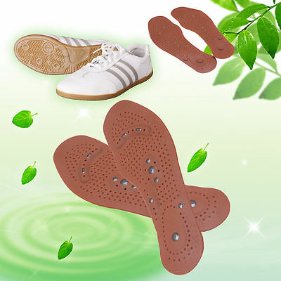 1Pair Fashion Magnetic Therapy Magnet Health Care Foot Massage Insoles Shoe Pads