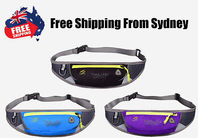 Running Belt Jogging Cycling Mobile Key Waist Bag Gym Yoga Fitness Gym Pouch
