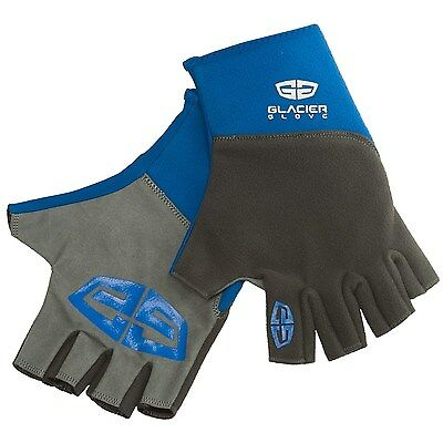Glacier Glove Cold Weather Fingerless Midweight Pro Angler Fishing Gloves - NEW!