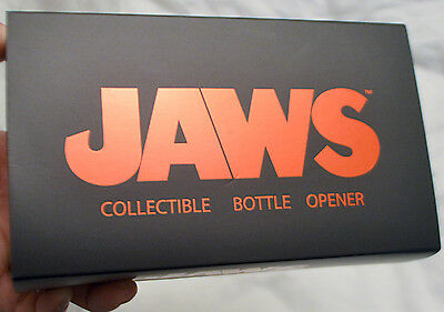 Jaws Collectible Metal Stainless Steel Bottle Opener Factory Entertainment 2013