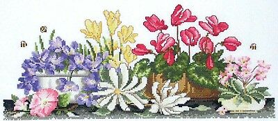 Lots of Pots - Country Threads Cross Stitch Chart
