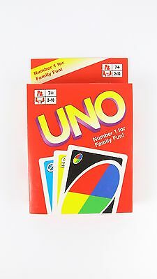 Tranditional Plain UNO Cards Family Fun Playing Card Educational Toy Board Game