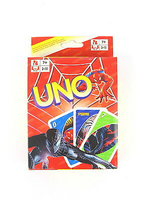 Spider Man UNO Cards Family Fun Playing Card Educational Toy Board Game