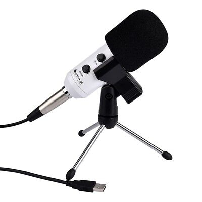 i-TECH White FIFINE K056 Handheld Mic Universal Sound Recording Microphone with