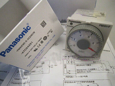 Panasonic PM4HF8R-S-AC240VW(ATC54251) OFF-DELAY TIMER New In Box