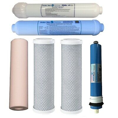 Reverse Osmosis Water Filters | Replace RON 5-6-7 Stage + 50G RO Membrane Filter