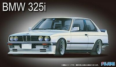 Fujimi 12610 RS-21 1/24 Scale Model Sport Car Kit BMW E30 325i 2 Door Coupe