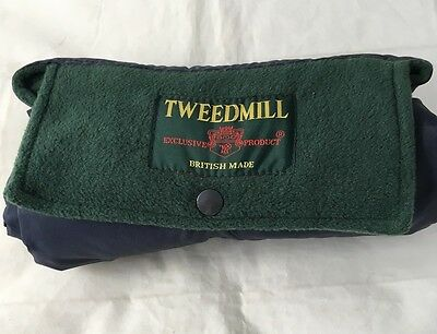 Tweed Mill Roll Up Picnic Outdoor Blanket - Waterproof Backing