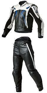 Bmw Motorbike Leather Suit Motorcycle Men Racing Biker Leather Jacket Trouser