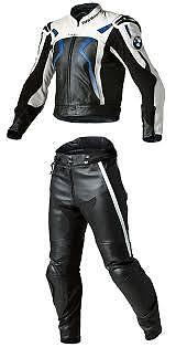 Bmw Motorbike Leather Suits Motorcycle Men Racing Biker Leather Jacket Trouser