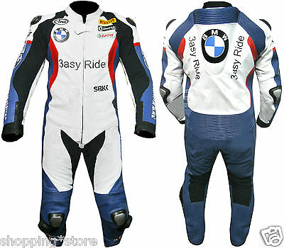 3Asy-Ride Bmw Suit Motorcycle Leather Suit Biker Leather Suit Motorbike Jacket