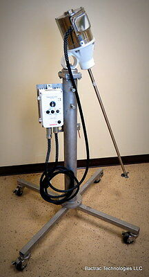 NEW Sharpe Portable Mixer with Stainless Steel Telescopic Stand