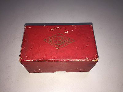 NEBRO vintage slide cases (24) in original box