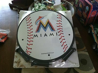 Miami Marlins Wall Coat Rack Brand New