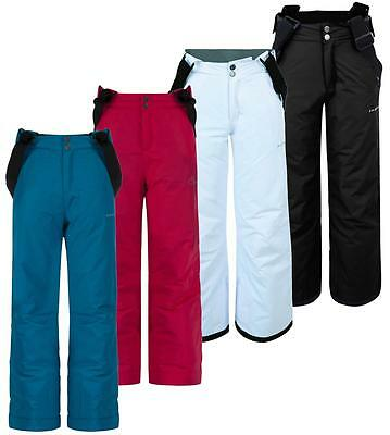 Dare2b Whirlwind Kids Ski Pant Salopette Girls Boys Insulated Trousers